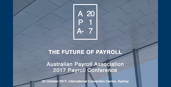 IN-CASE YOU MISSED IT…. Australian Payroll Association 2017 Conference